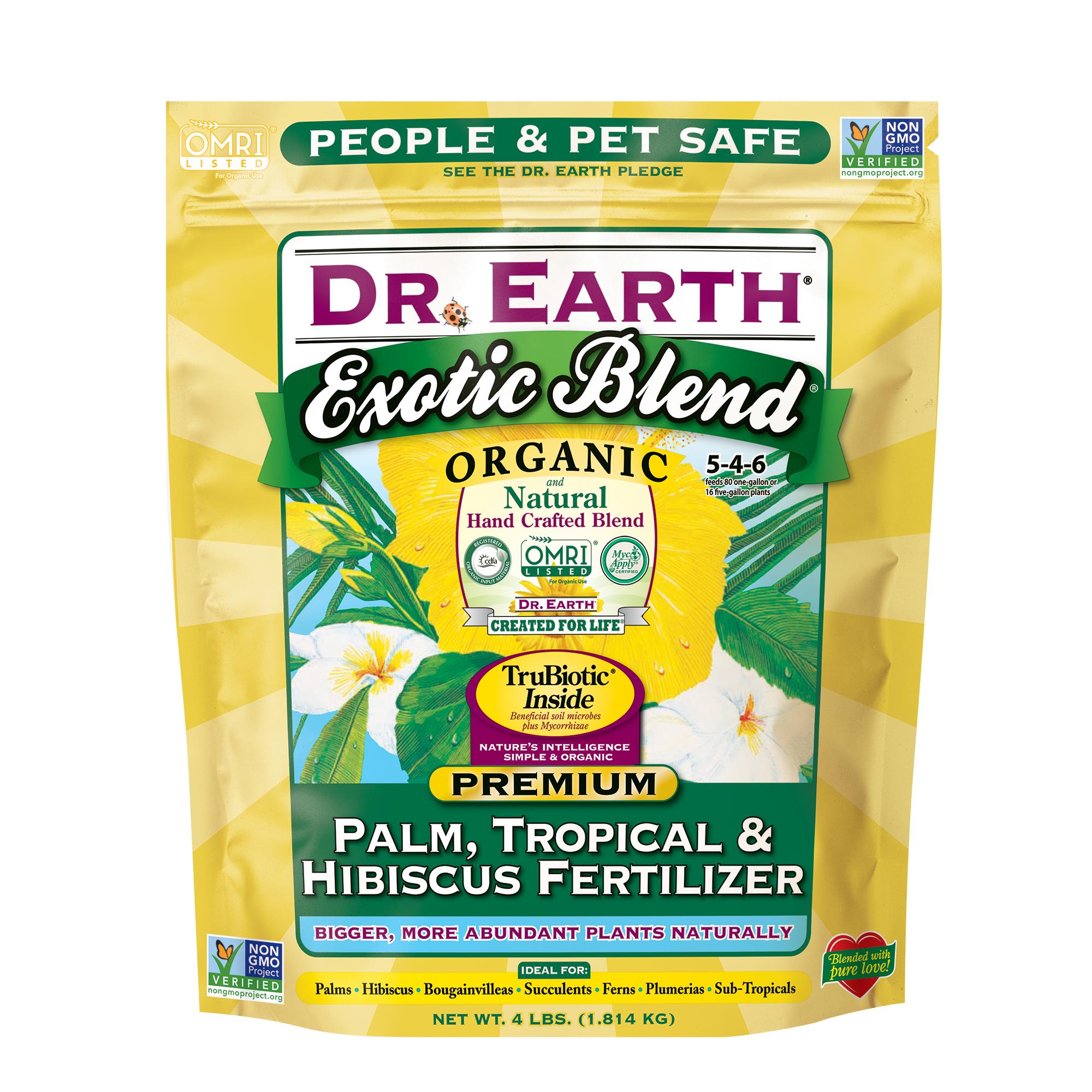 EXOTIC BLEND® PALM, TROPICAL & HIBISCUS FERTILIZER 4lb