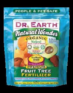 Natural Wonder Fruit Tree Fert 4lb bag