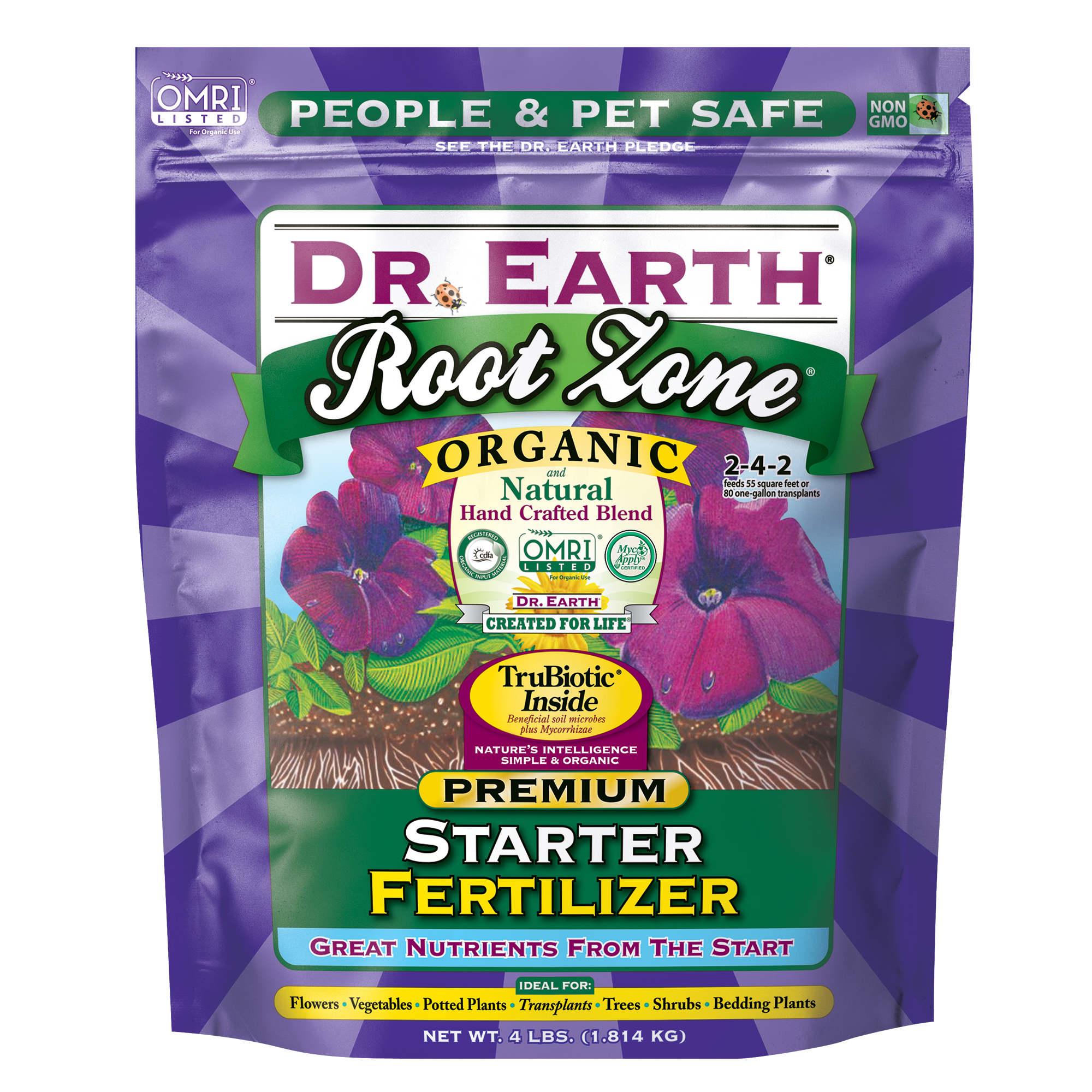 ROOT ZONE® STARTER FERTILIZER 4lb