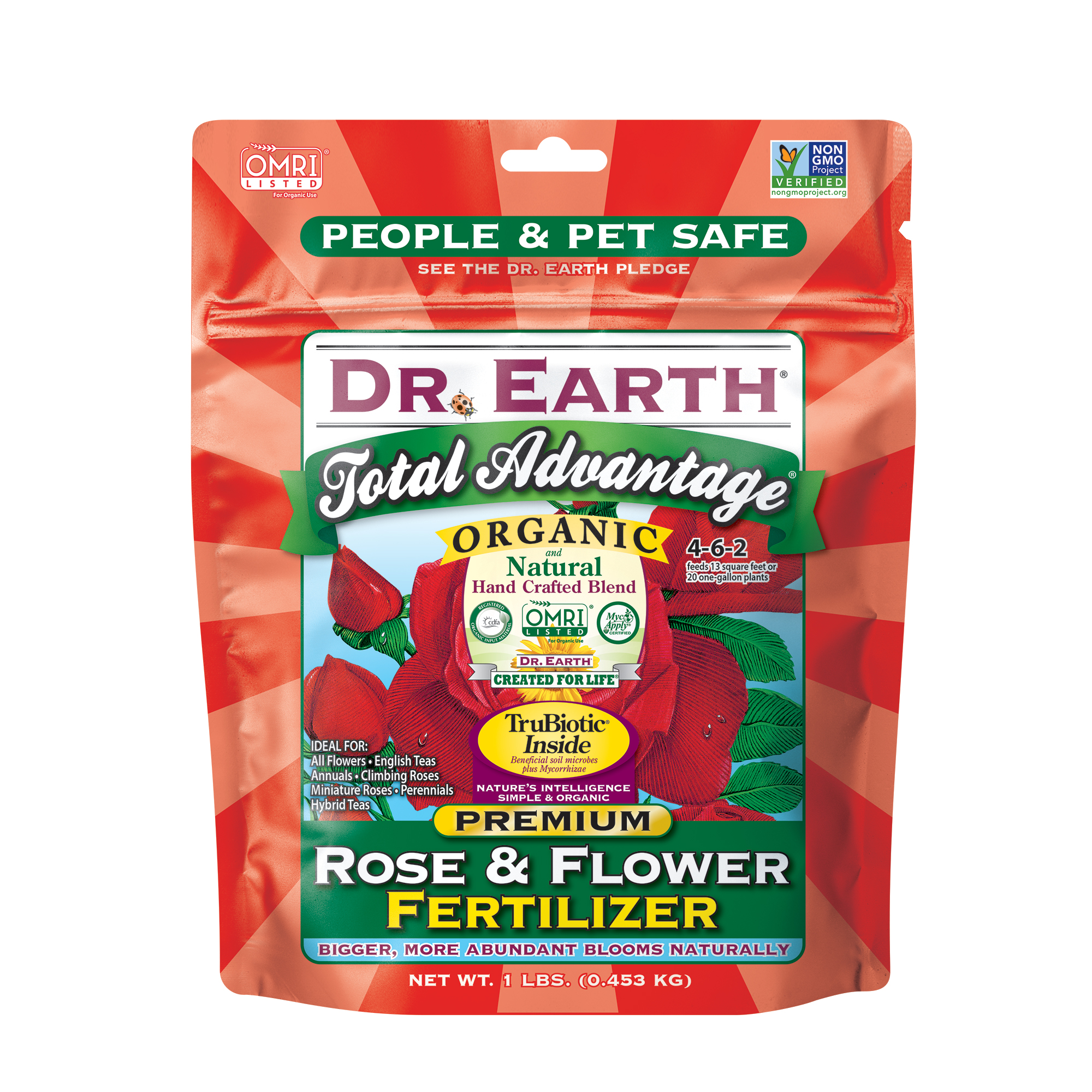 TOTAL ADVANTAGE® ROSE & FLOWER FERTILIZER 1lb