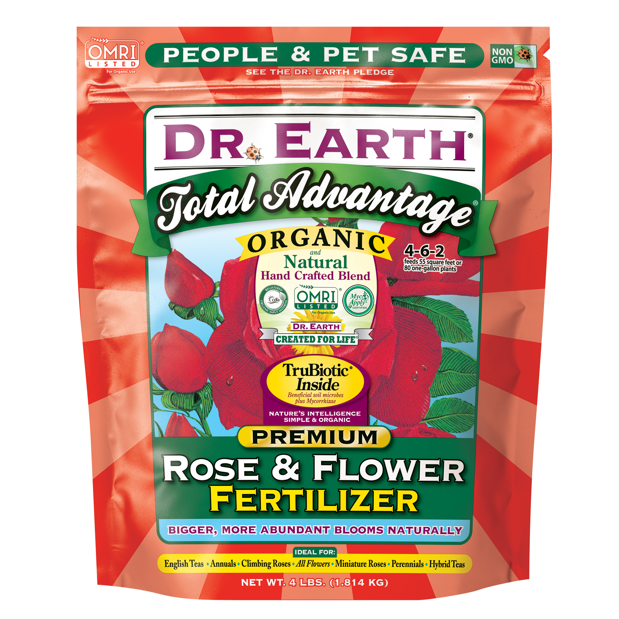 TOTAL ADVANTAGE® ROSE & FLOWER FERTILIZER 4lb