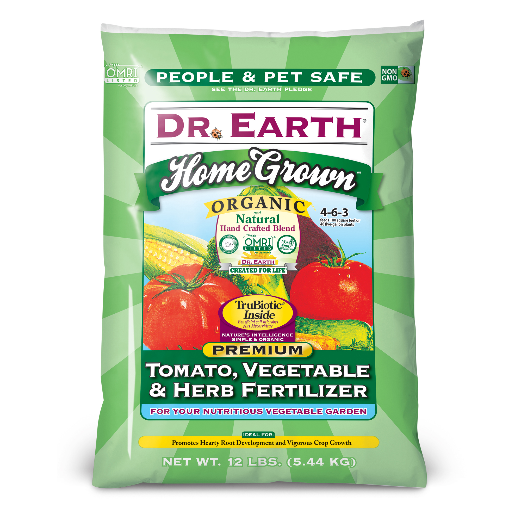 HOME GROWN® TOMATO, VEGETABLE & HERB FERTILIZER 12lb