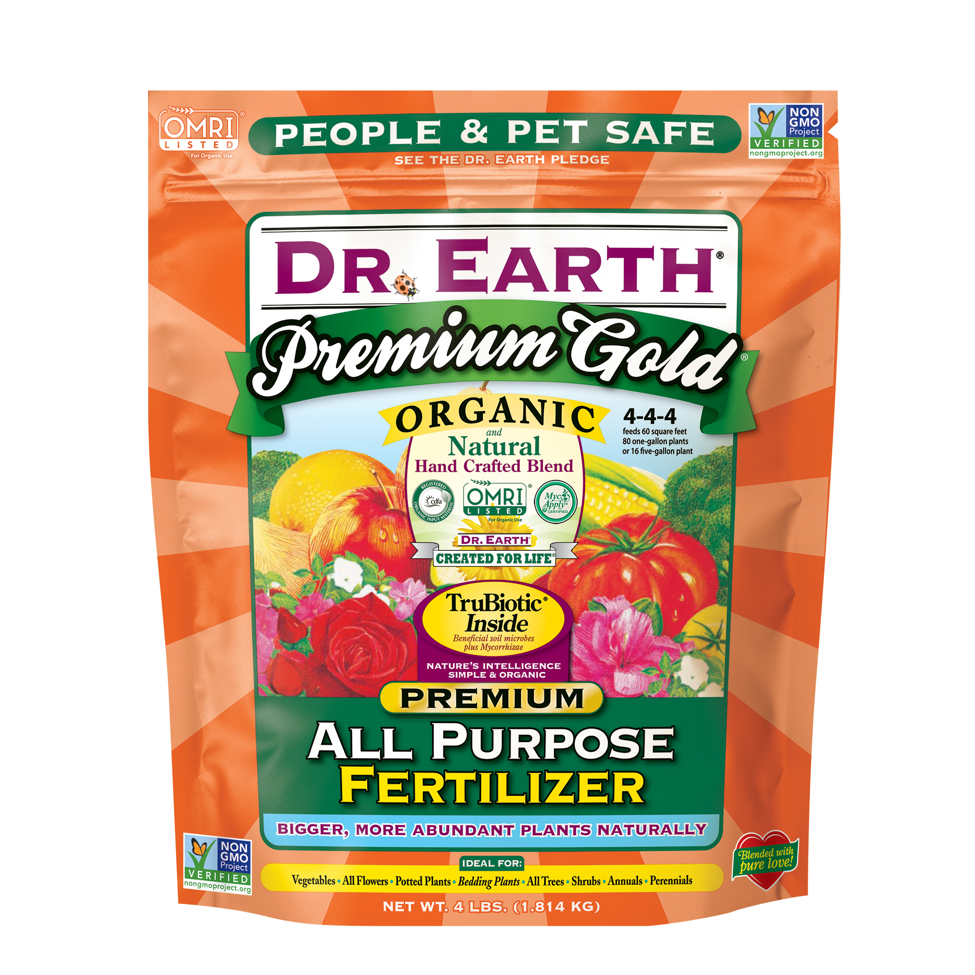 PREMIUM GOLD® ALL PURPOSE FERTILIZER 4lb