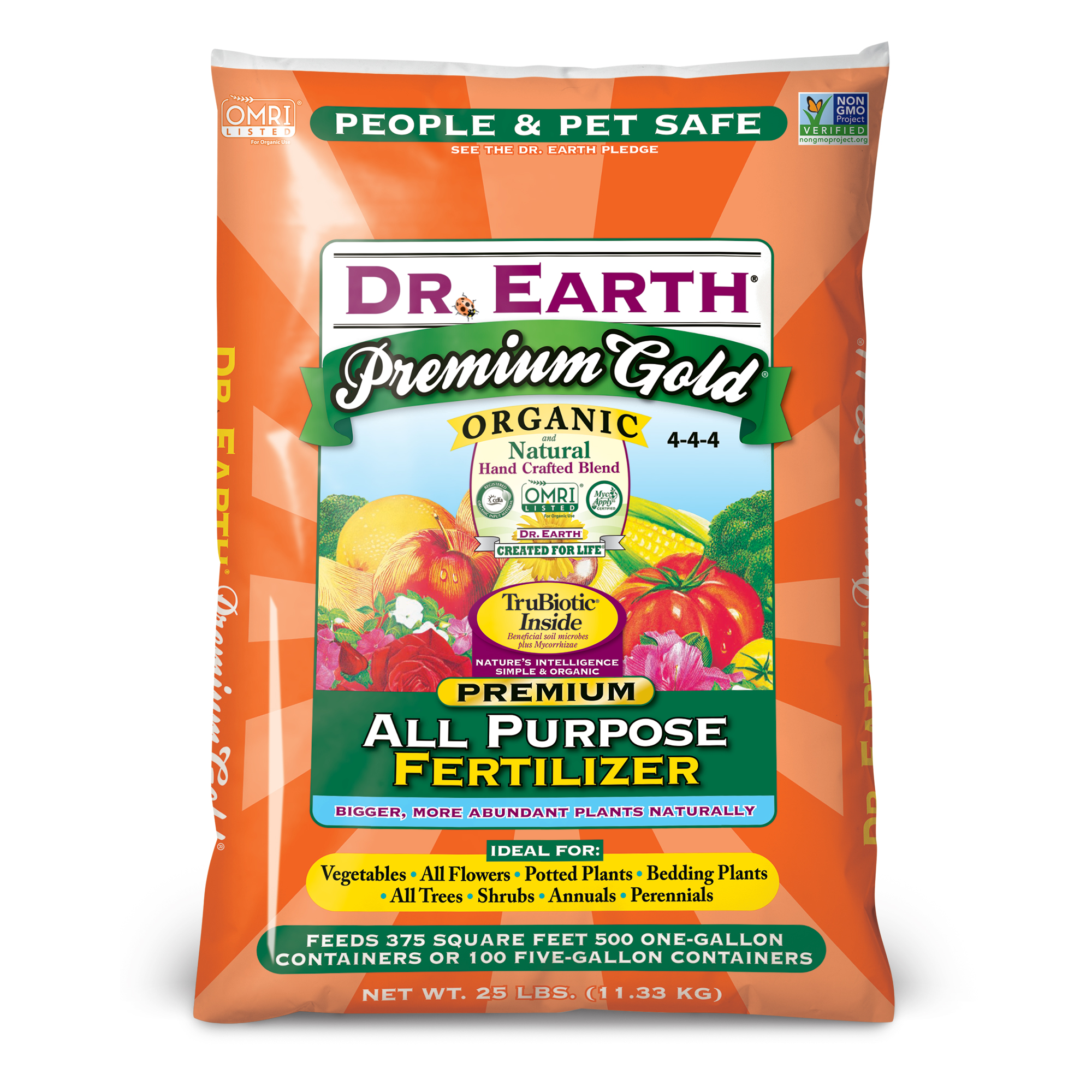 PREMIUM GOLD® ALL PURPOSE FERTILIZER 25lb