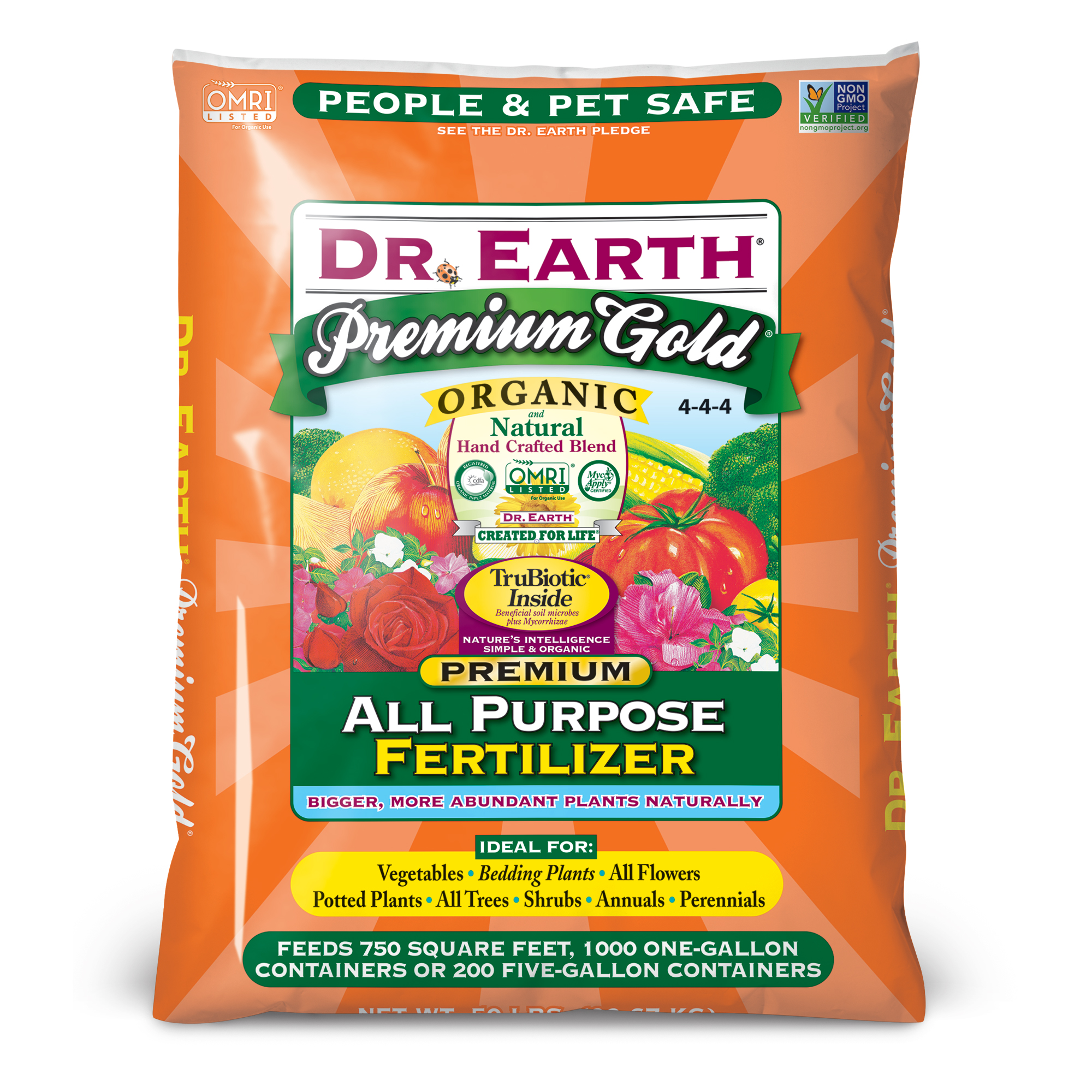 PREMIUM GOLD® ALL PURPOSE FERTILIZER 50lb