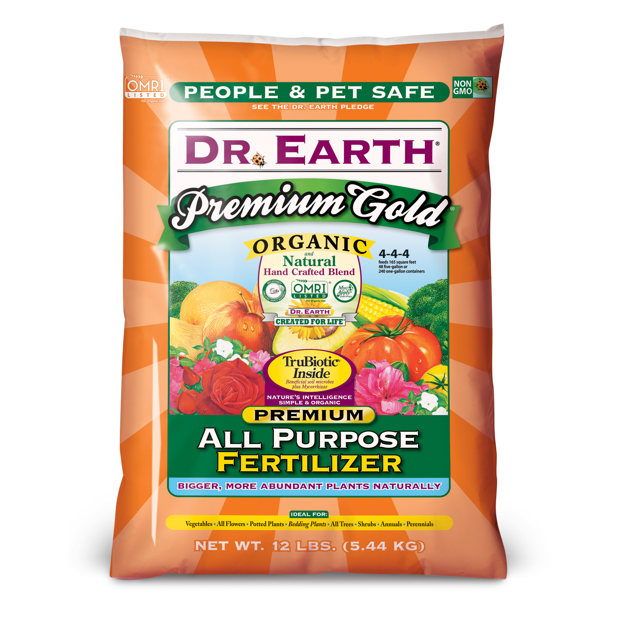 PREMIUM GOLD® ALL PURPOSE FERTILIZER 12lb