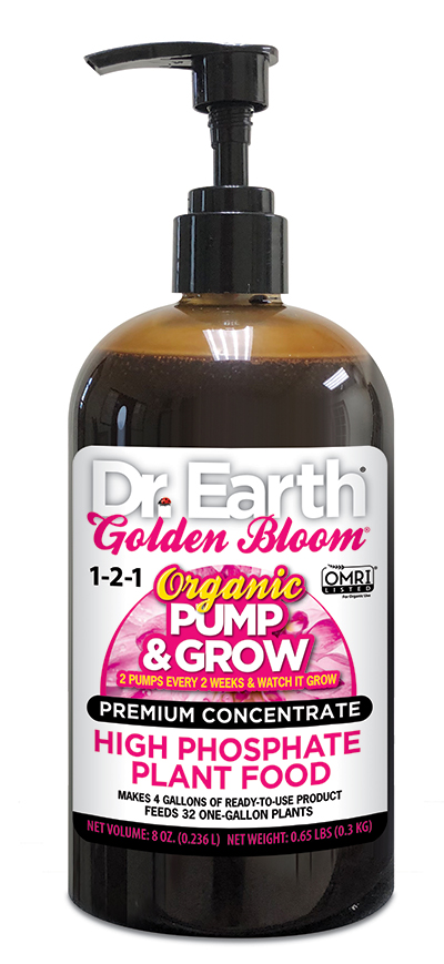 GOLDEN BLOOM® HIGH PHOSPHATE LIQUID PLANT FOOD 8oz
