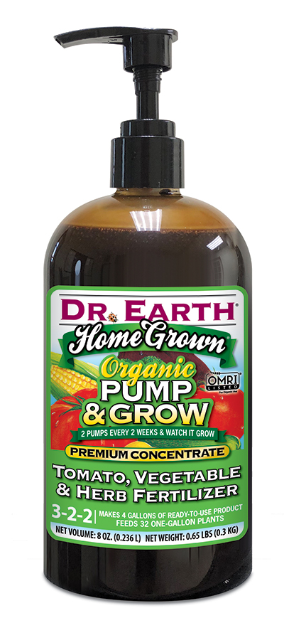 HOME GROWN® TOMATO, VEGETABLE & HERB LIQUID FERTILIZER 8oz