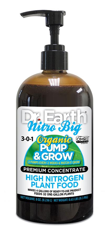 NITRO BIG® HIGH NITROGEN LIQUID PLANT FOOD 8oz
