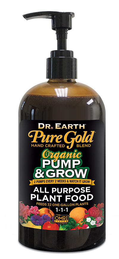 PURE GOLD® ALL PURPOSE LIQUID FERTILIZER 8oz
