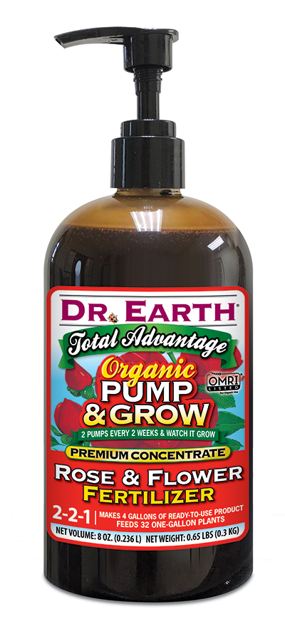 TOTAL ADVANTAGE® ROSE & FLOWER LIQUID FERTILIZER 8oz