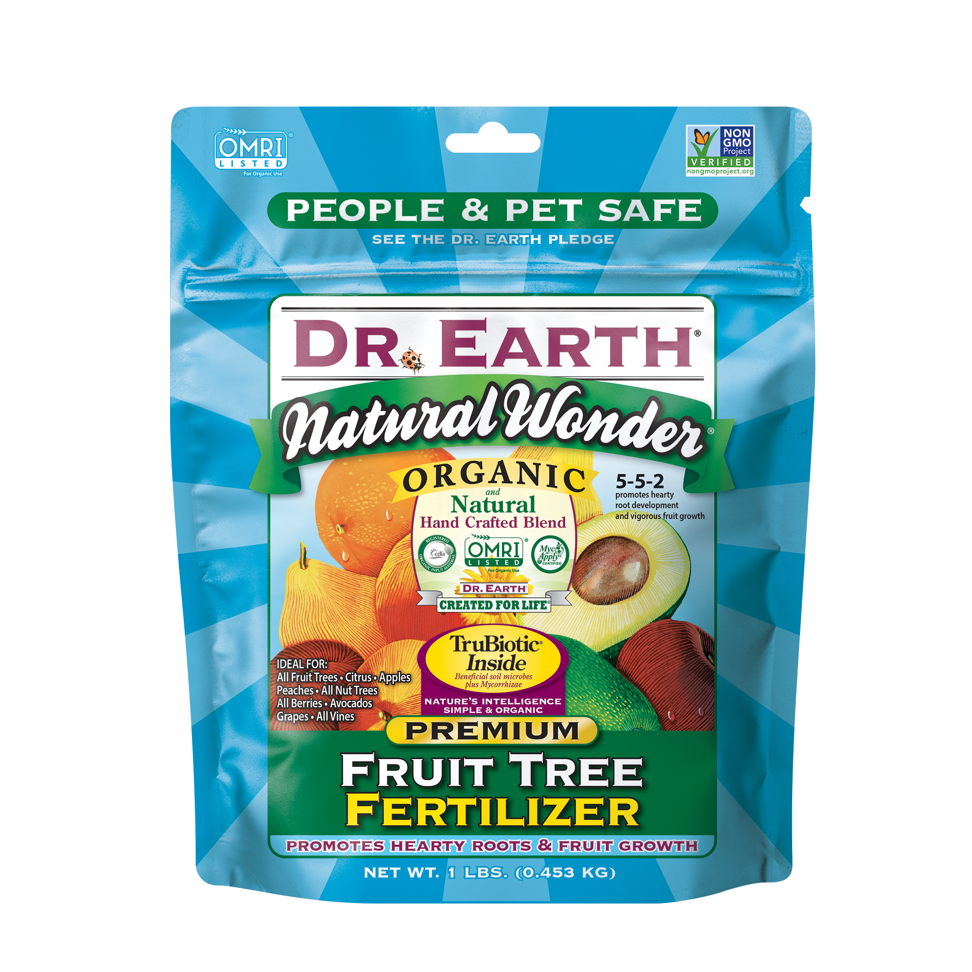 NATURAL WONDER® FRUIT TREE FERTILIZER 1lb