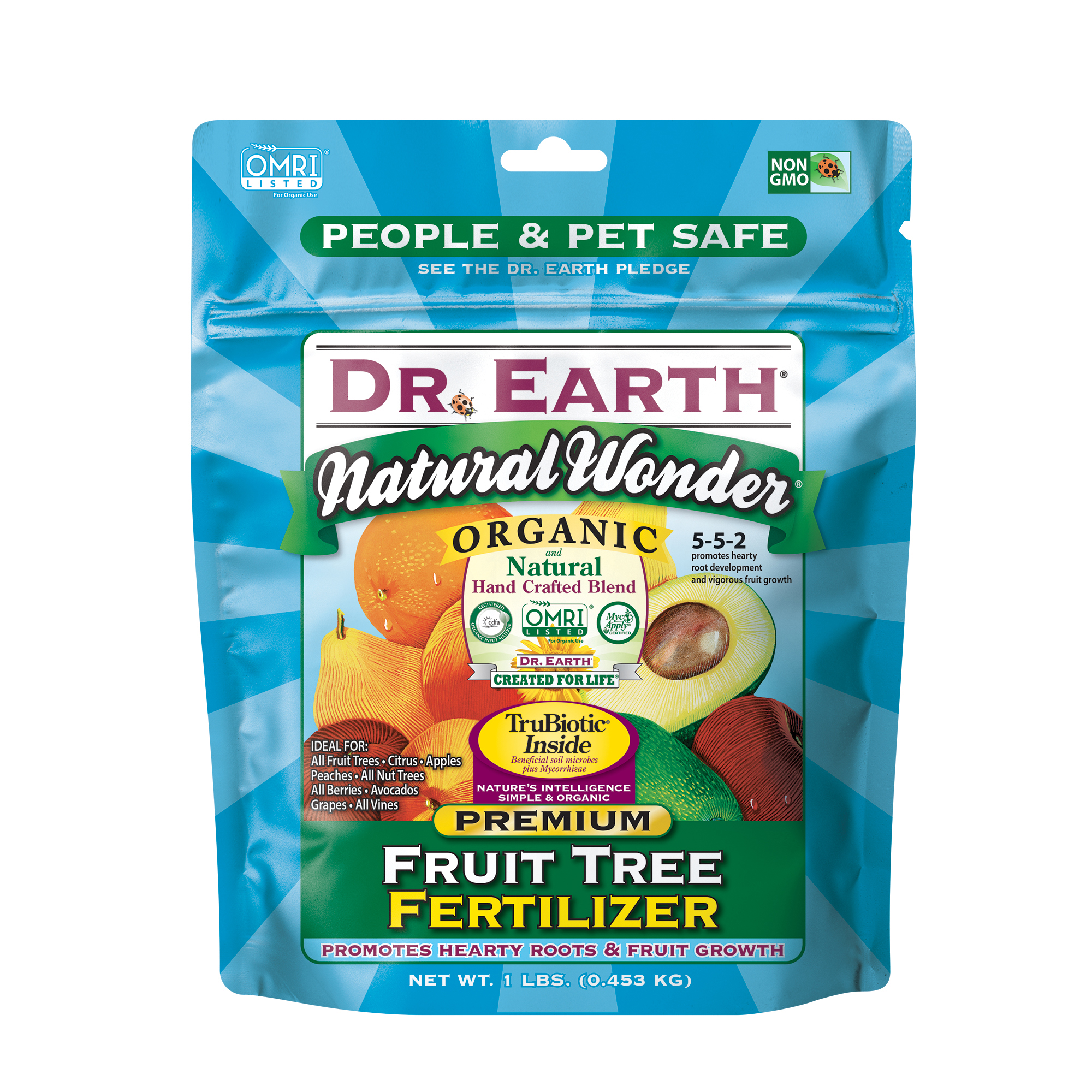 NATURAL WONDER® FRUIT TREE FERTILIZER 1lb