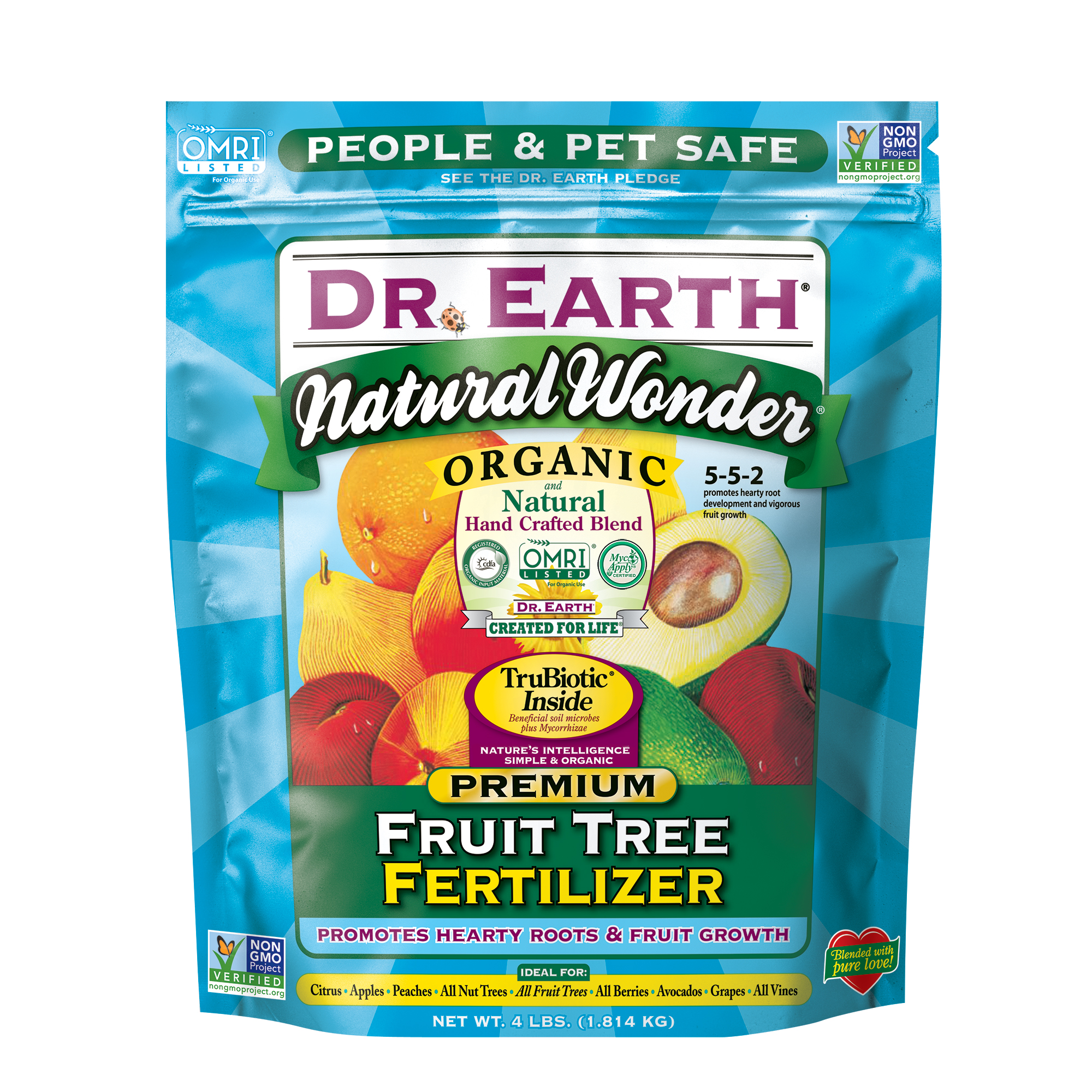 NATURAL WONDER® FRUIT TREE FERTILIZER 4lb