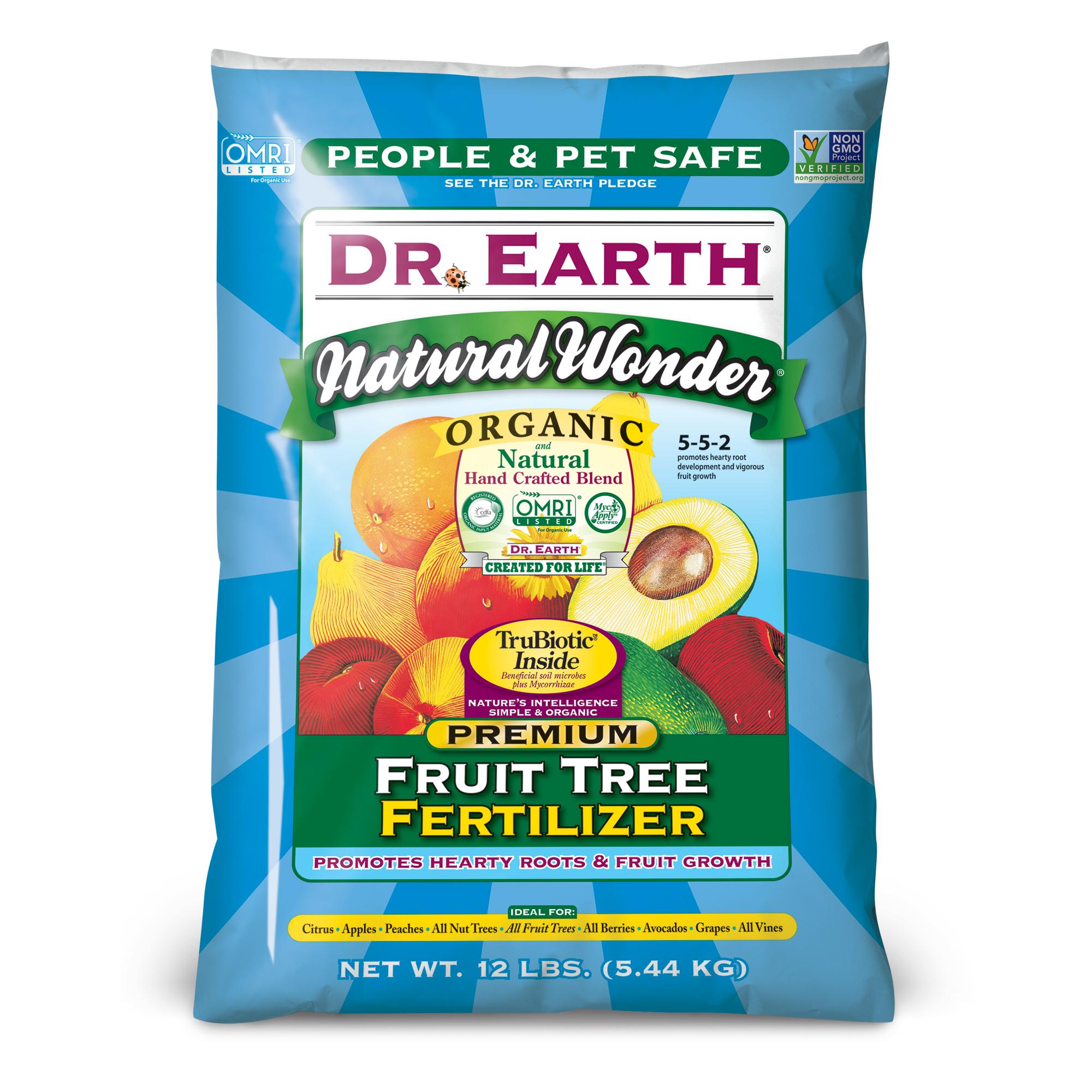 NATURAL WONDER® FRUIT TREE FERTILIZER 12lb
