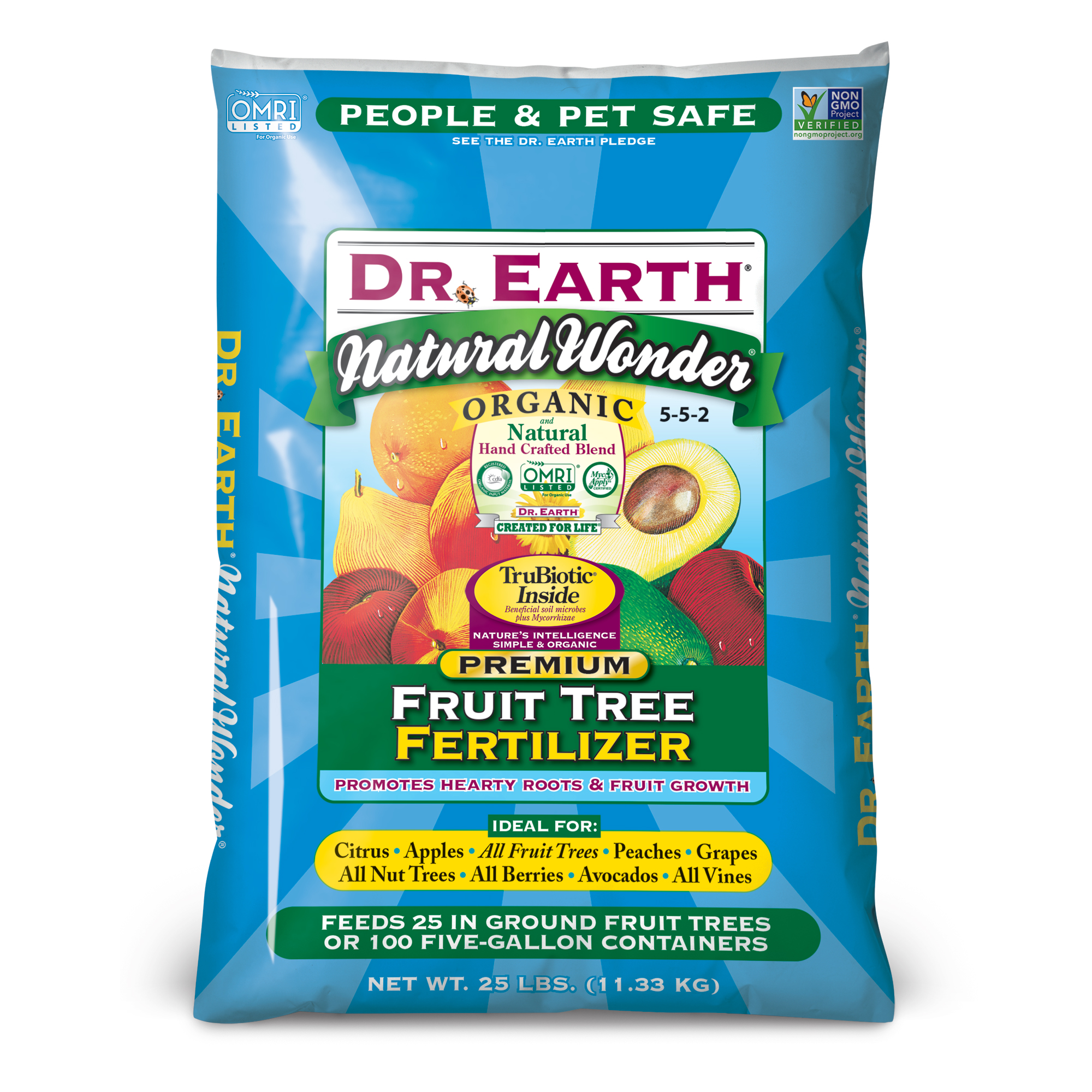 NATURAL WONDER® FRUIT TREE FERTILIZER 25lb