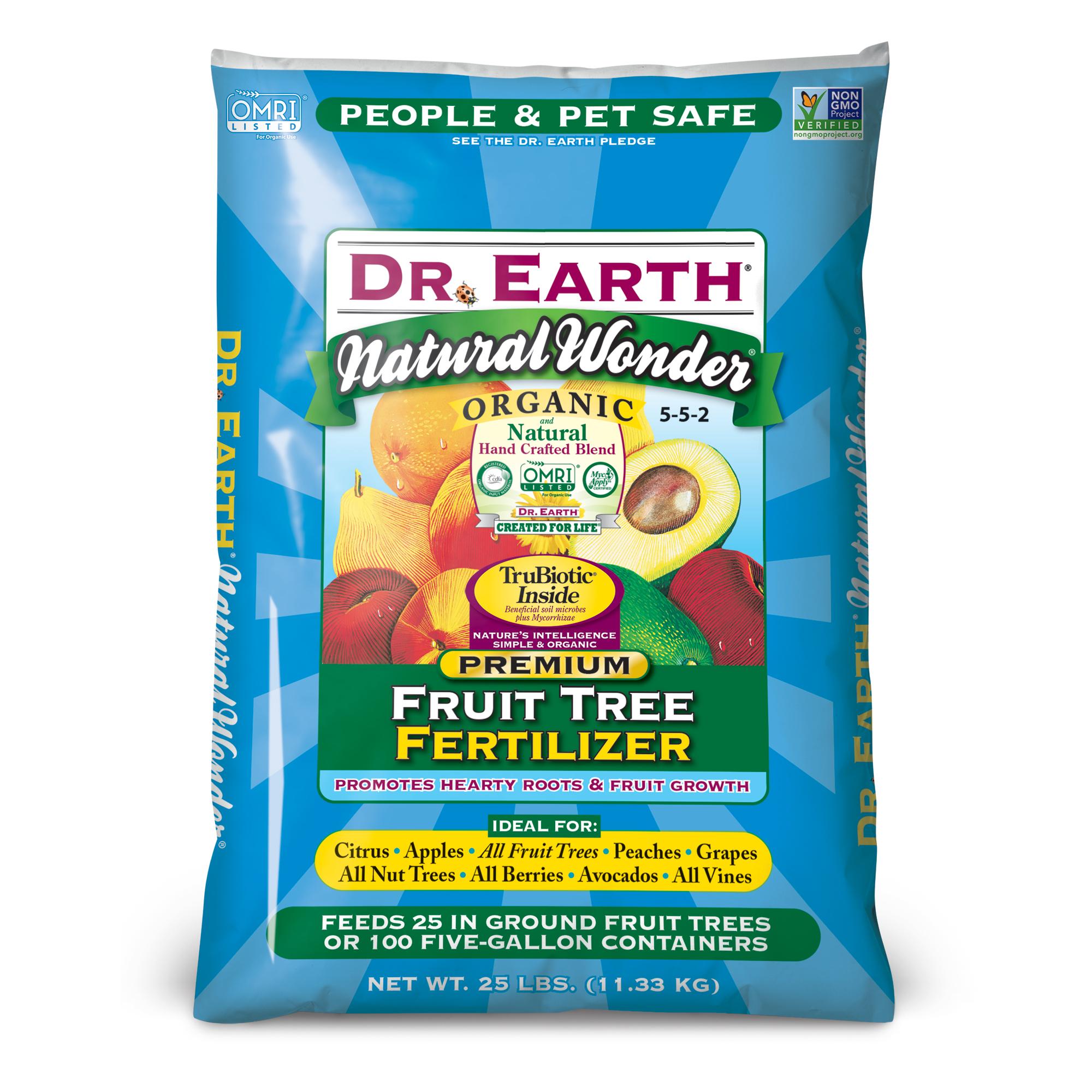 NATURAL WONDER® FRUIT TREE FERTILIZER 25lb