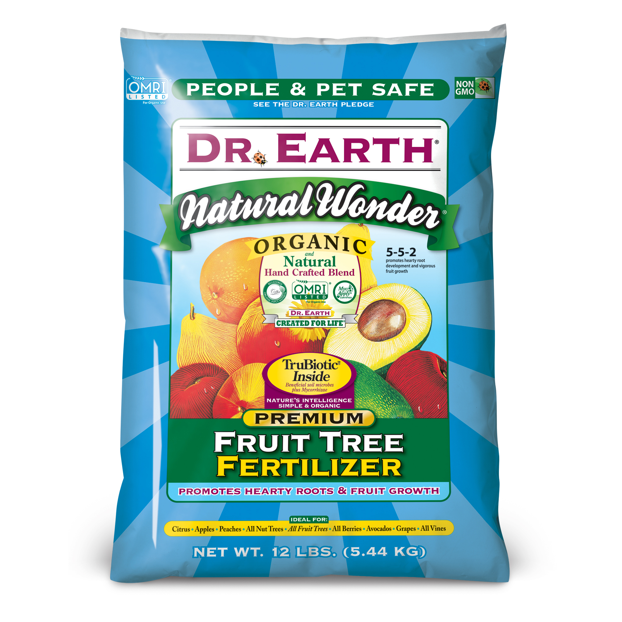 NATURAL WONDER® FRUIT TREE FERTILIZER 12lb