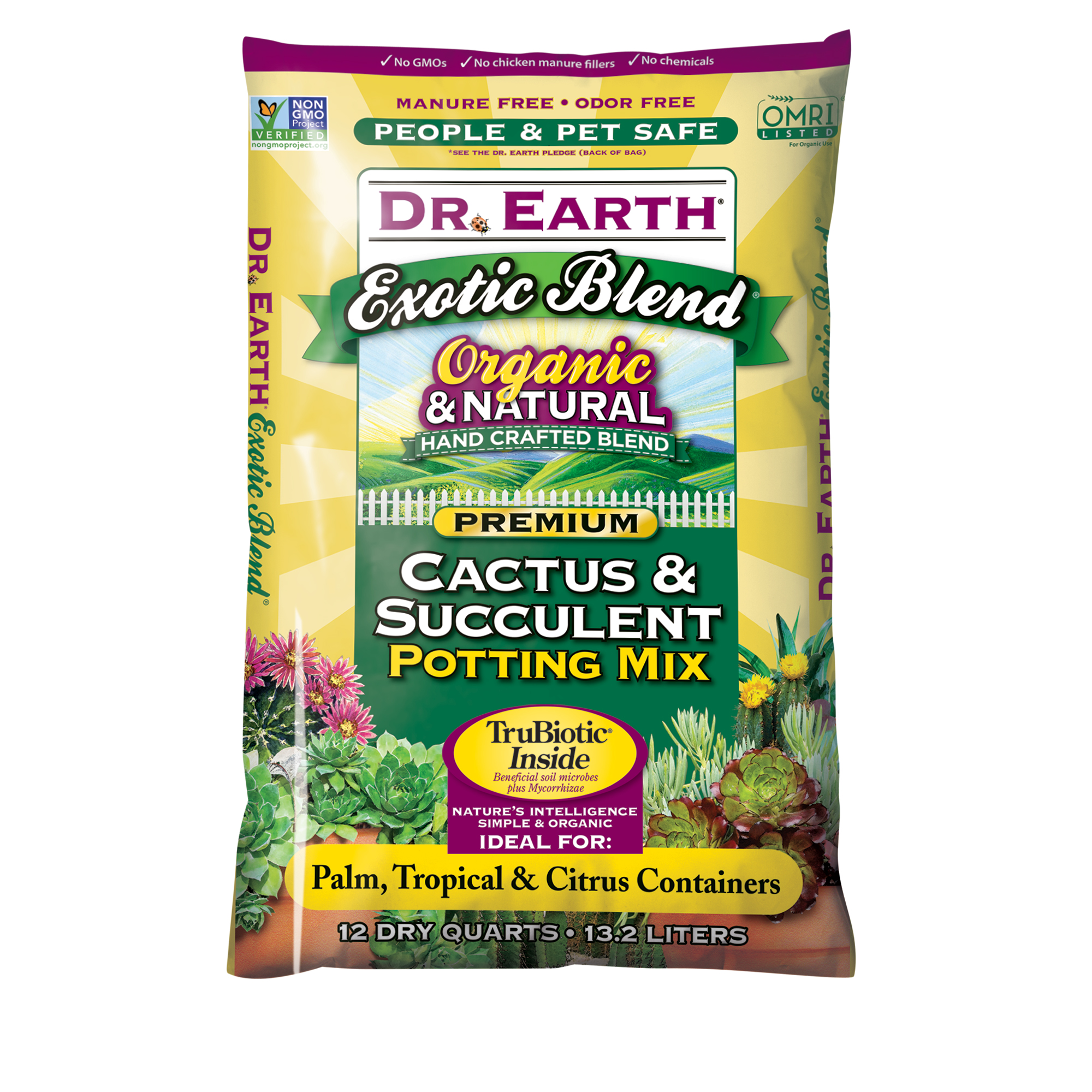 EXOTIC BLEND® CACTUS & SUCCULENT POTTING MIX 12qt