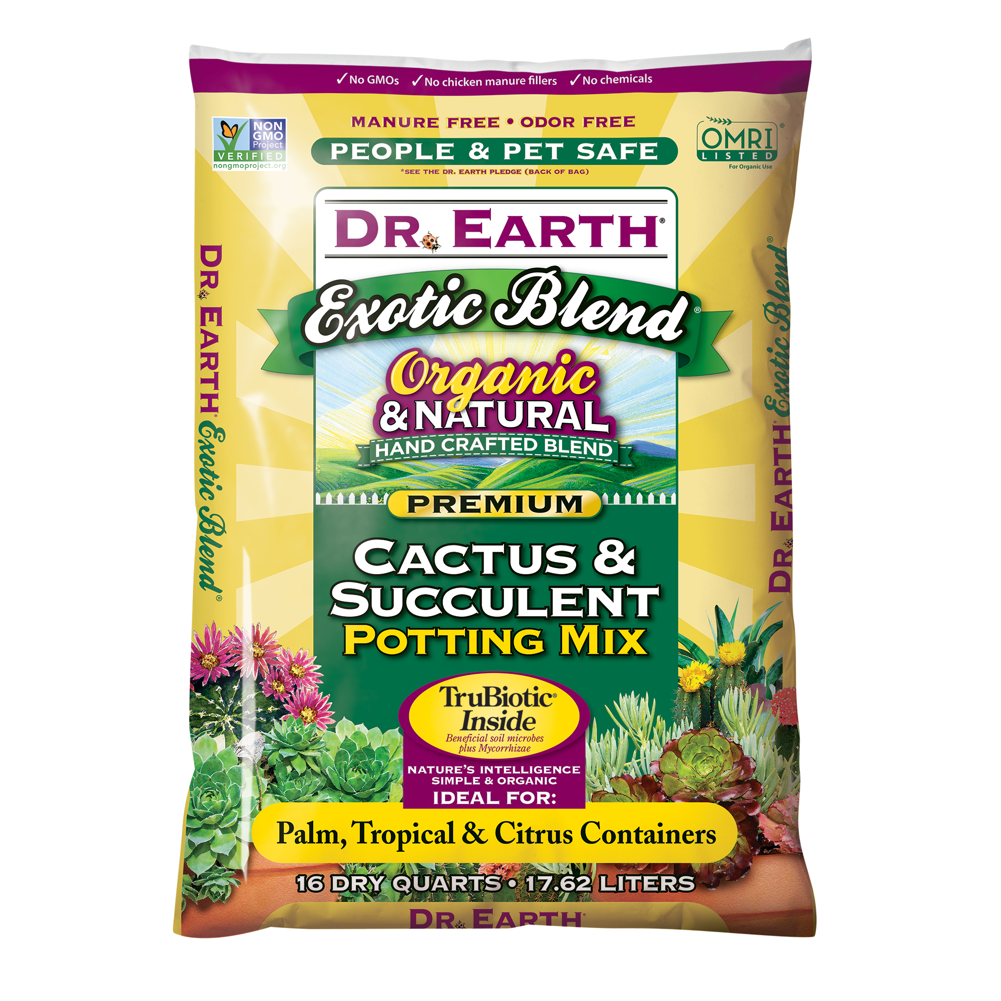 EXOTIC BLEND® CACTUS & SUCCULENT POTTING MIX 16qt