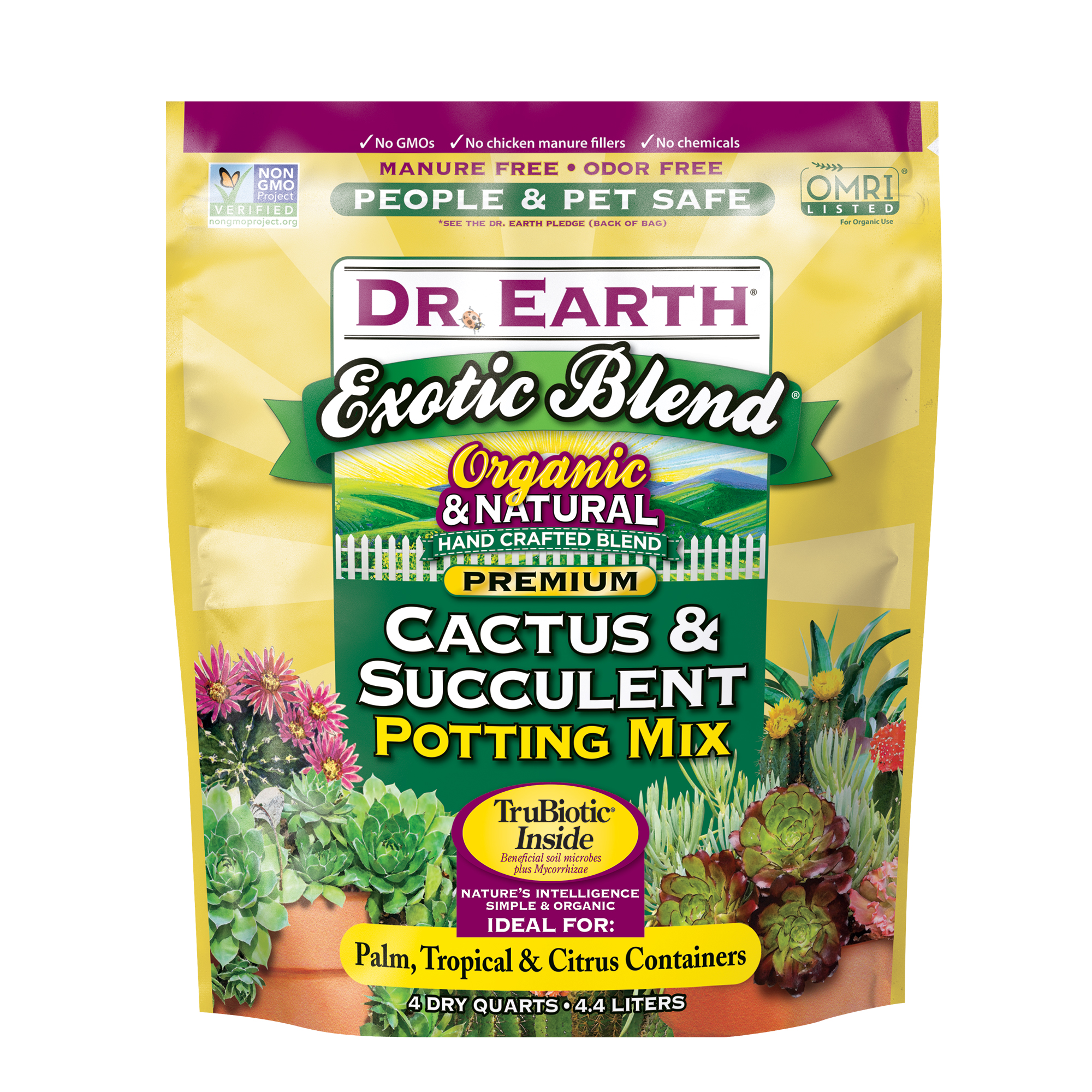 EXOTIC BLEND® CACTUS & SUCCULENT POTTING MIX