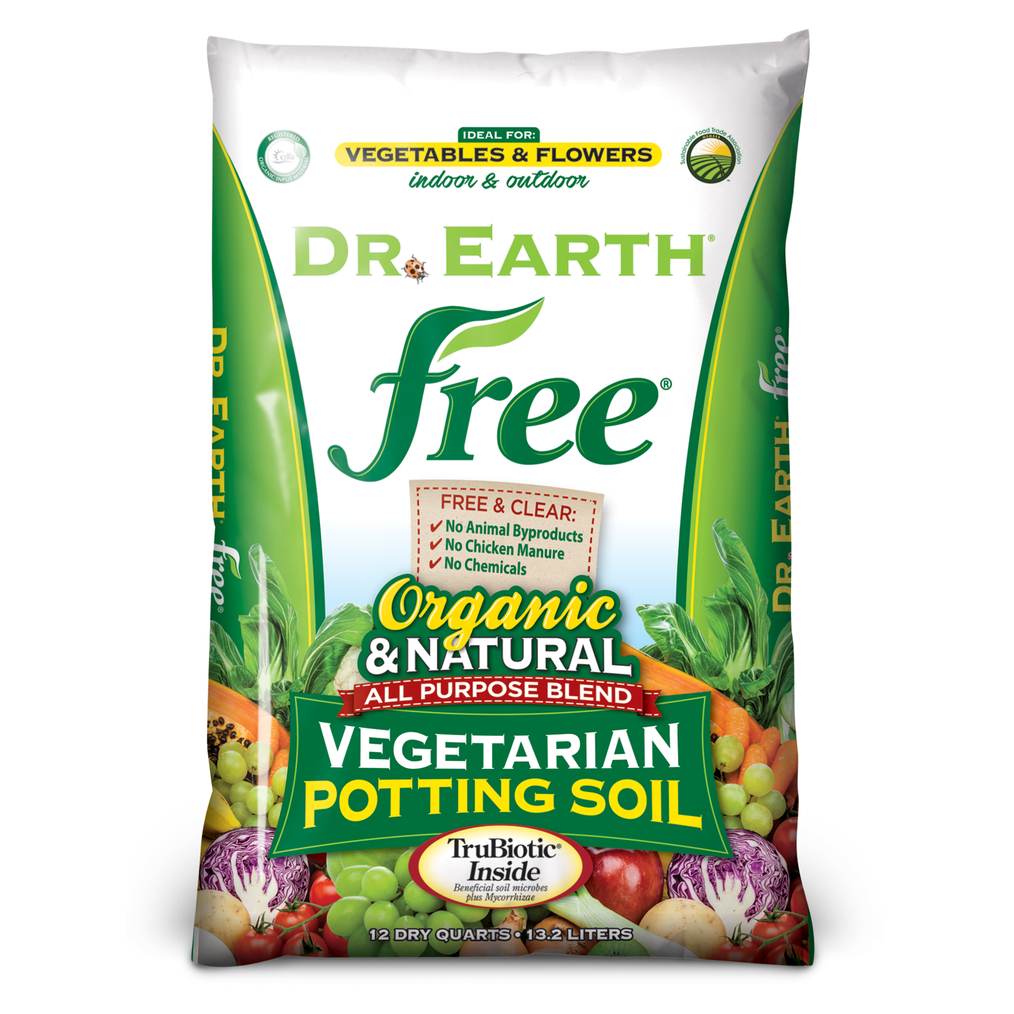 FREE® VEGETARIAN POTTING SOIL 12qt