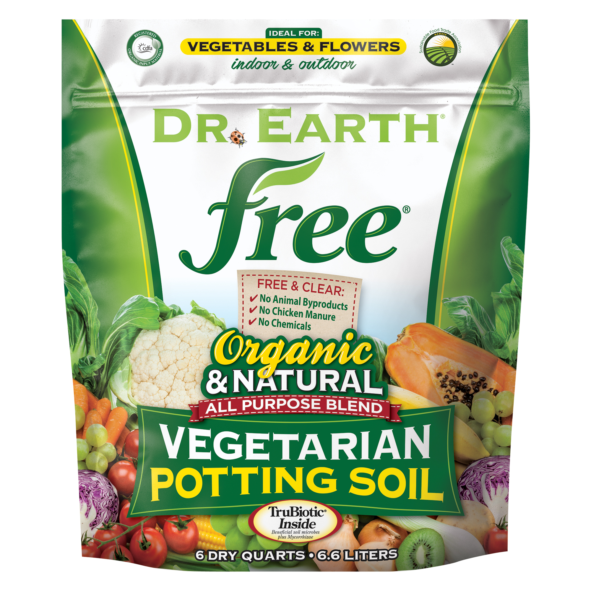 FREE® VEGETARIAN POTTING SOIL