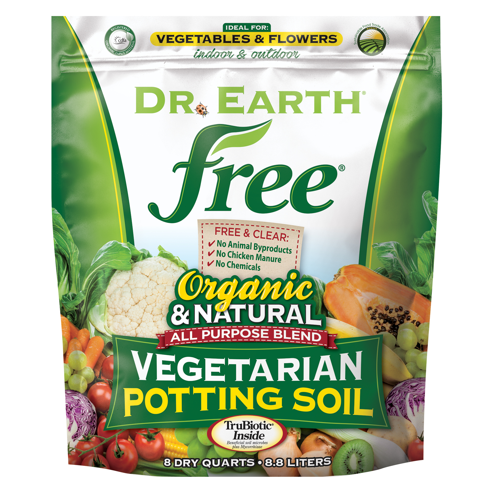 FREE® VEGETARIAN POTTING SOIL 8qt