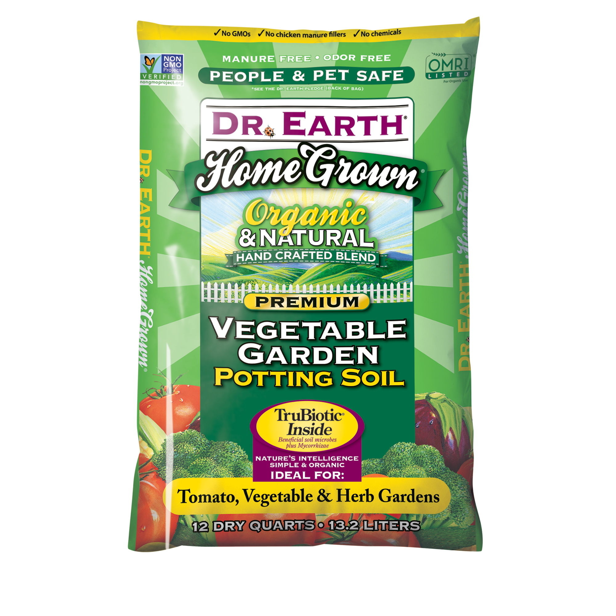 HOME GROWN® VEGETABLE GARDEN POTTING SOIL 12qt