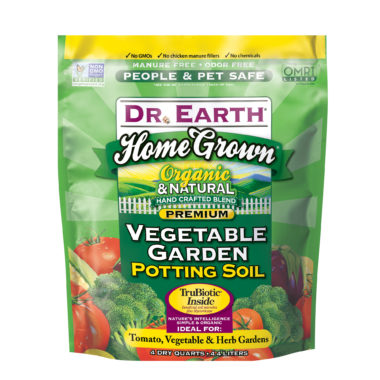 Home Grown Vegetable Garden Potting Soil