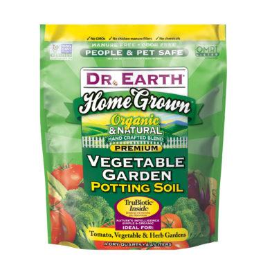 Home Grown Vegetable Garden Potting Soil