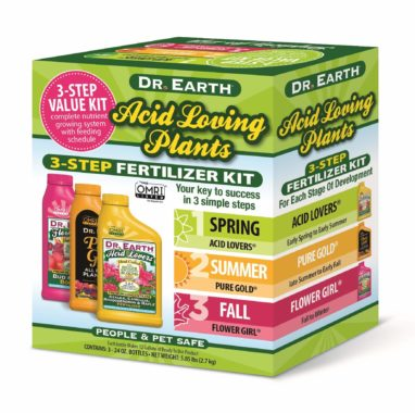 Acid Loving Plants Fertilizer Kit