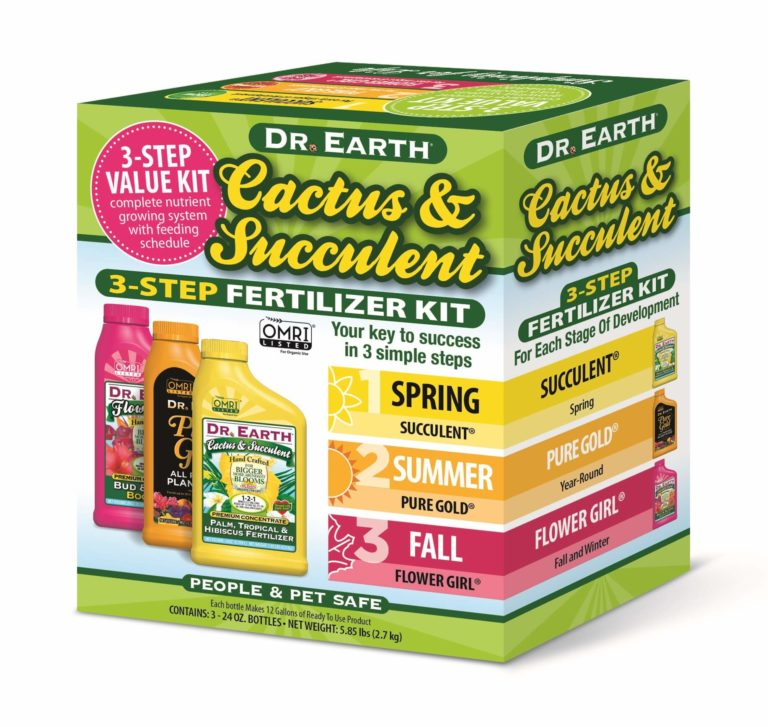 CACTUS & SUCCULENT 3-STEP FERTILIZER KIT