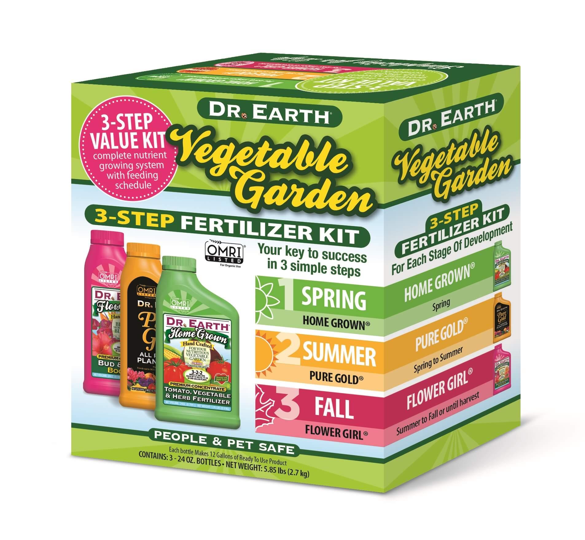 Vegetable Garden 3-step kit