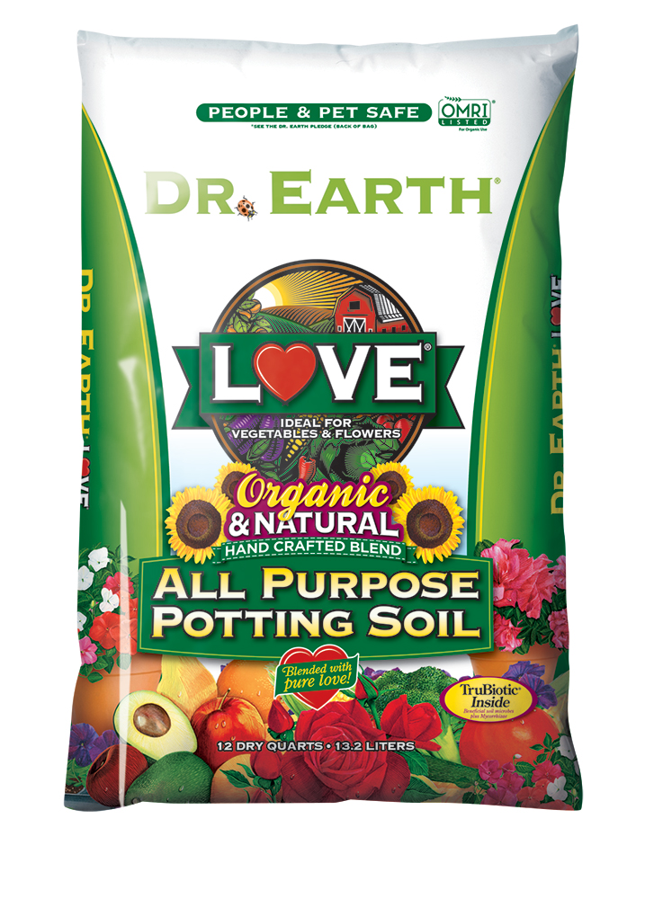 LOVE® ALL PURPOSE POTTING SOIL 12qt