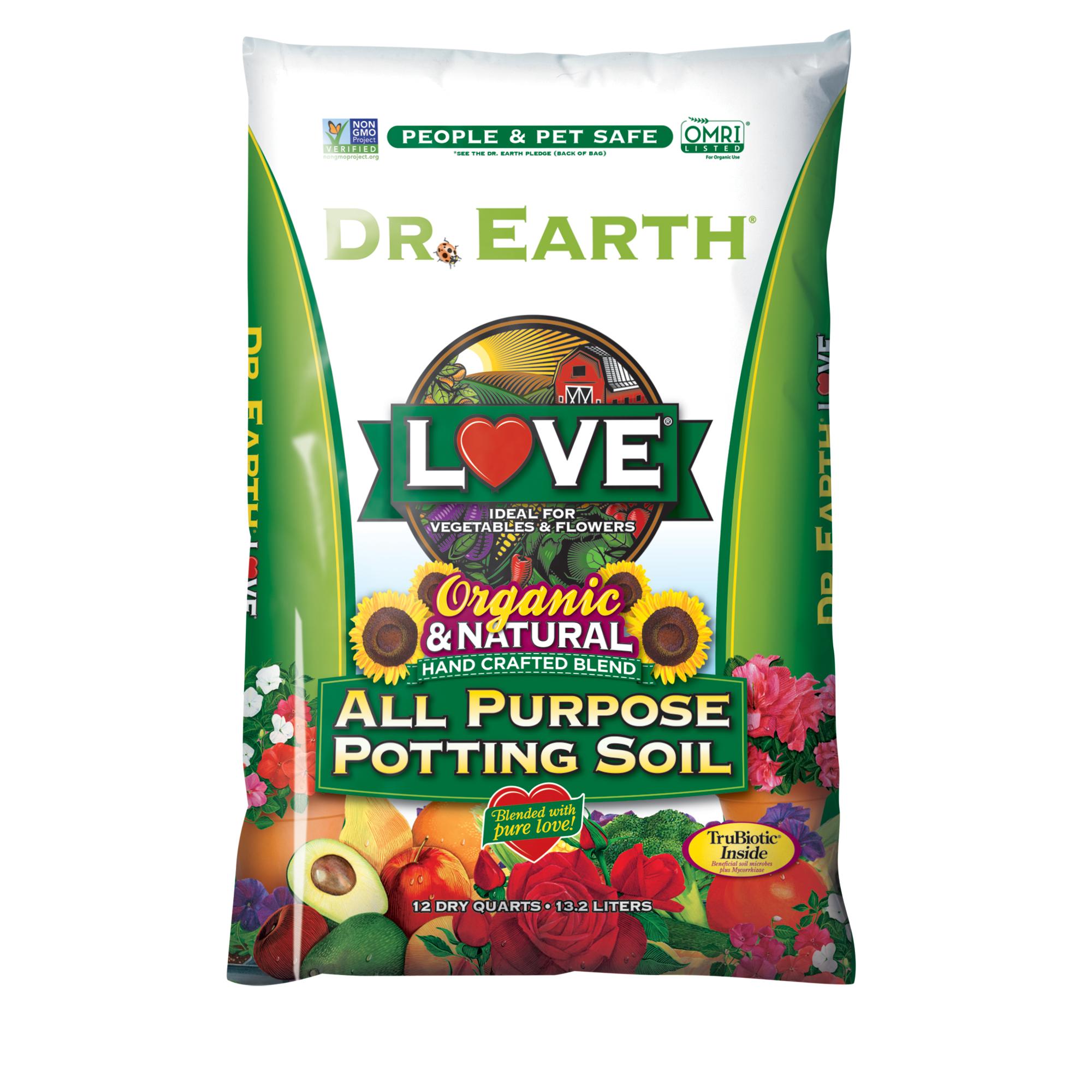 LOVE® ALL PURPOSE POTTING SOIL 12qt