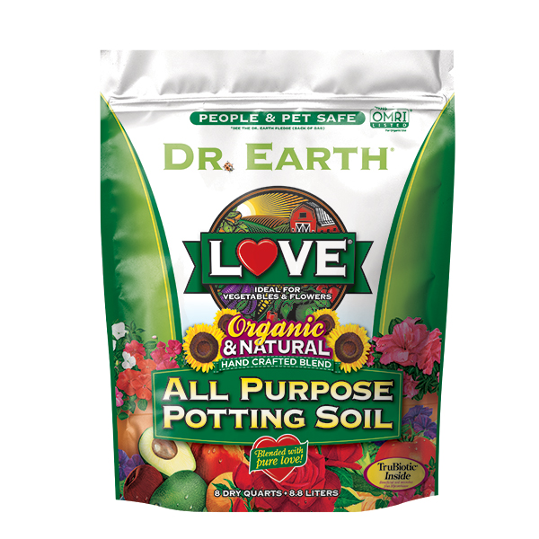 LOVE® ALL PURPOSE POTTING SOIL 8qt