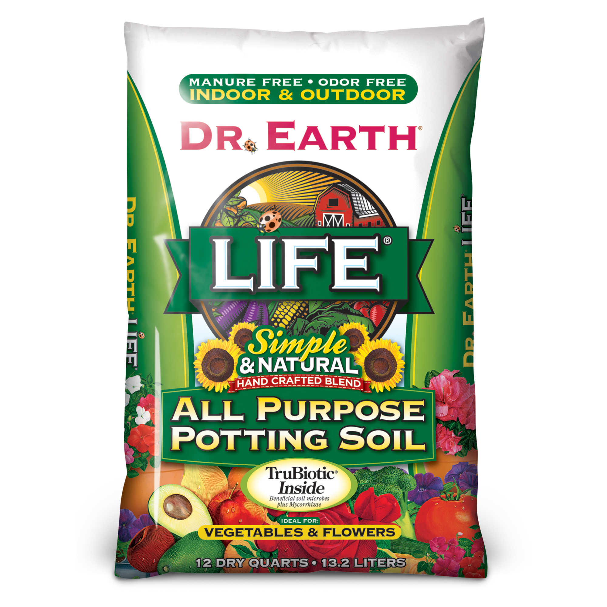 LIFE® ALL PURPOSE POTTING SOIL 12qt