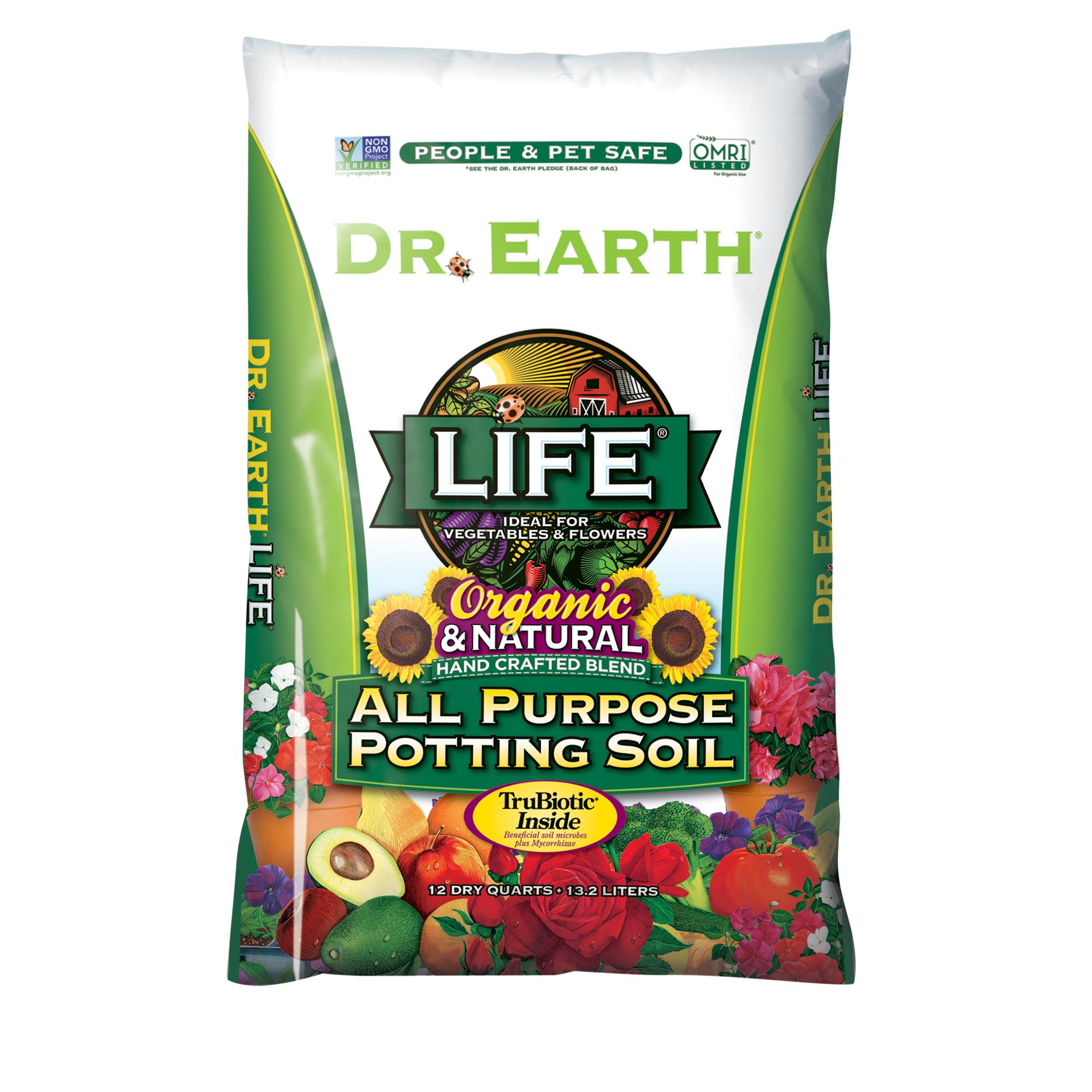 LIFE® ALL PURPOSE POTTING SOIL 12qt