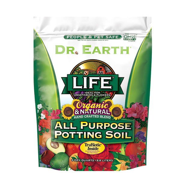 LIFE® ALL PURPOSE POTTING SOIL 8qt