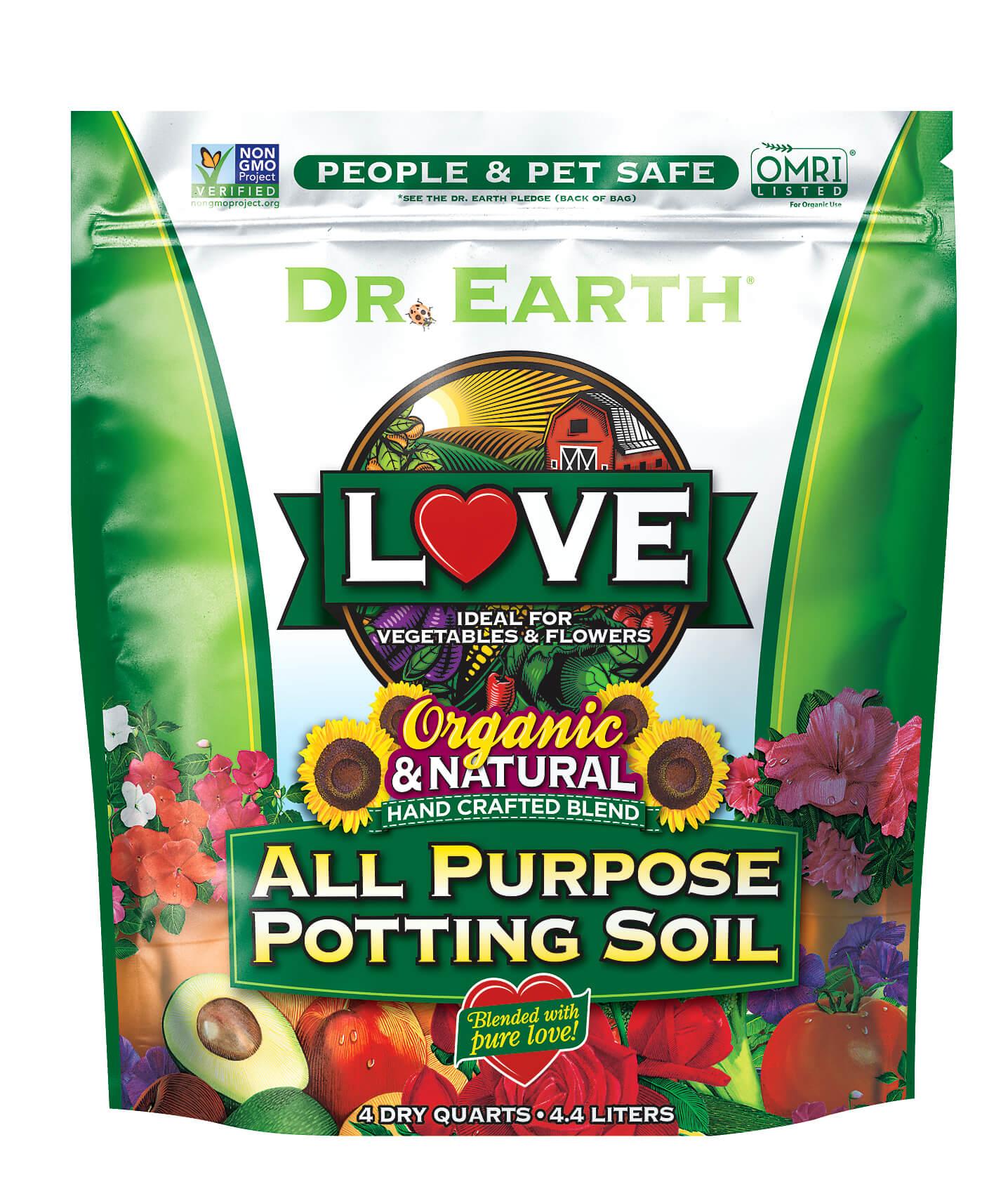 LOVE® ALL PURPOSE POTTING SOIL