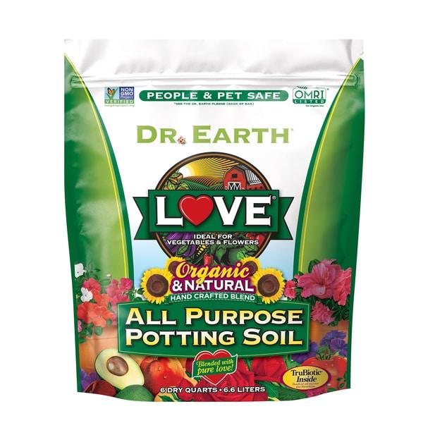 LOVE® ALL PURPOSE POTTING SOIL 6qt