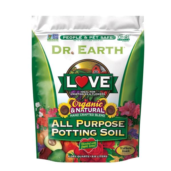 LOVE® ALL PURPOSE POTTING SOIL 8qt
