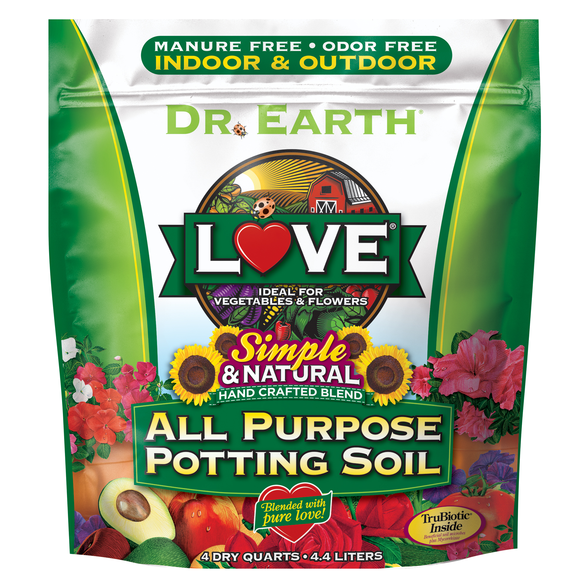 LOVE® ALL PURPOSE POTTING SOIL