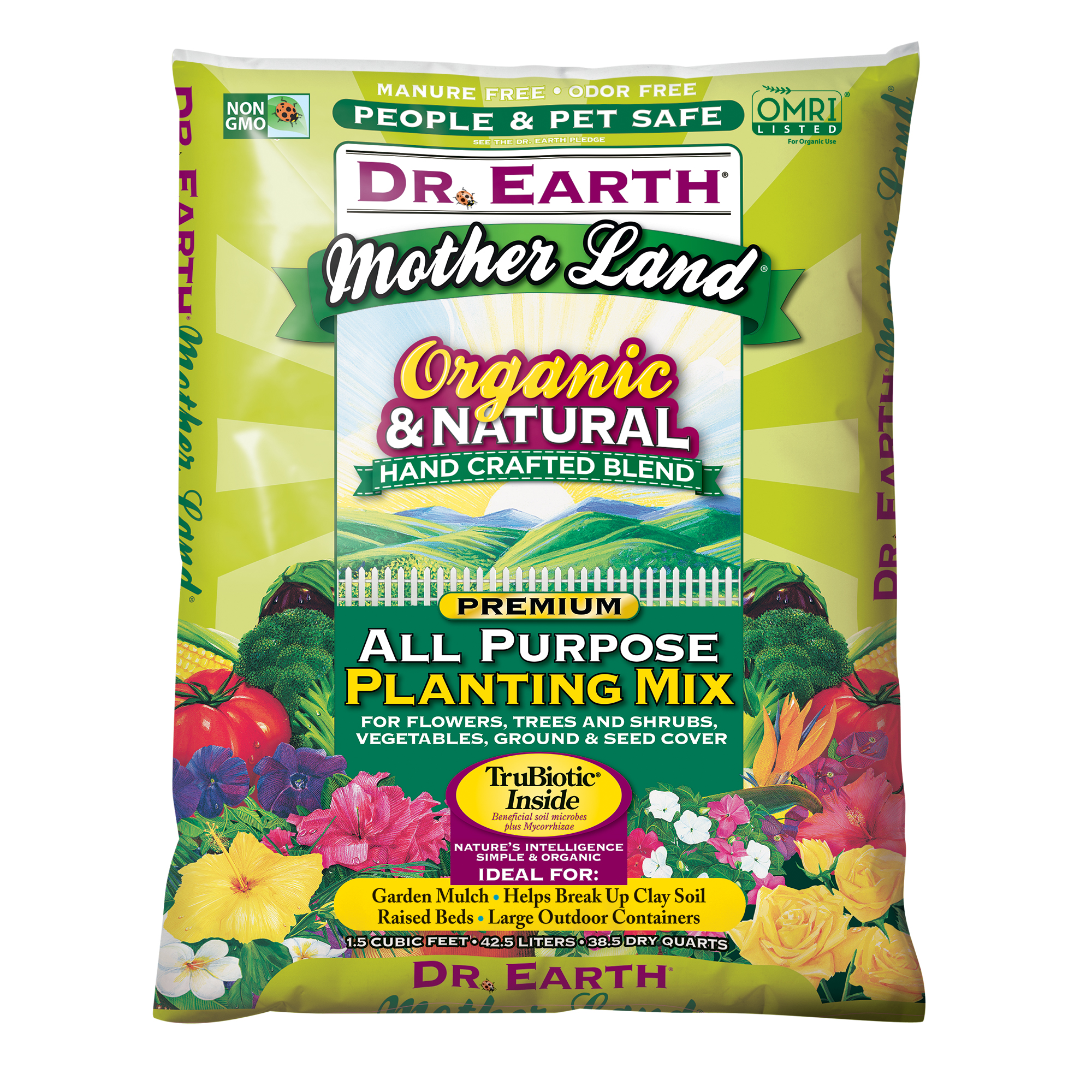 MOTHER LAND® ALL PURPOSE PLANTING MIX