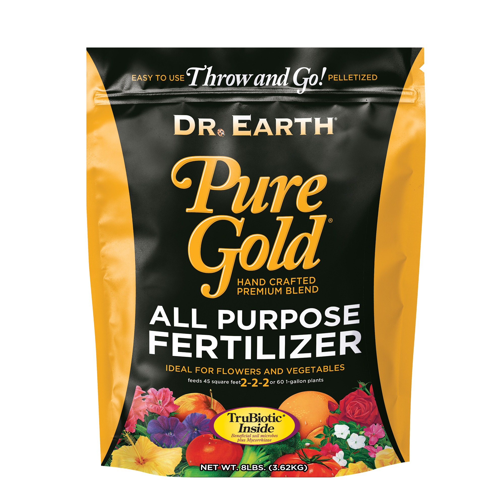 PURE GOLD® ALL PURPOSE FERTILIZER 8lb