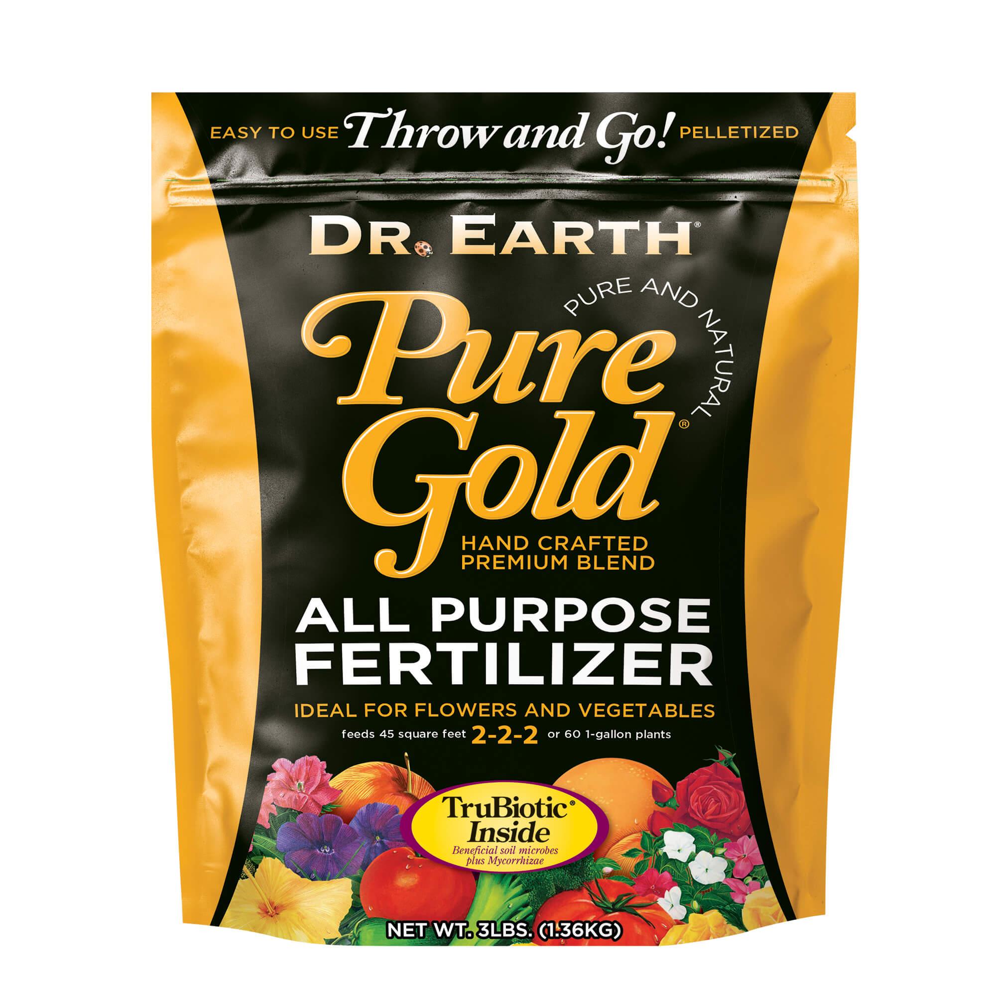 PURE GOLD® ALL PURPOSE FERTILIZER