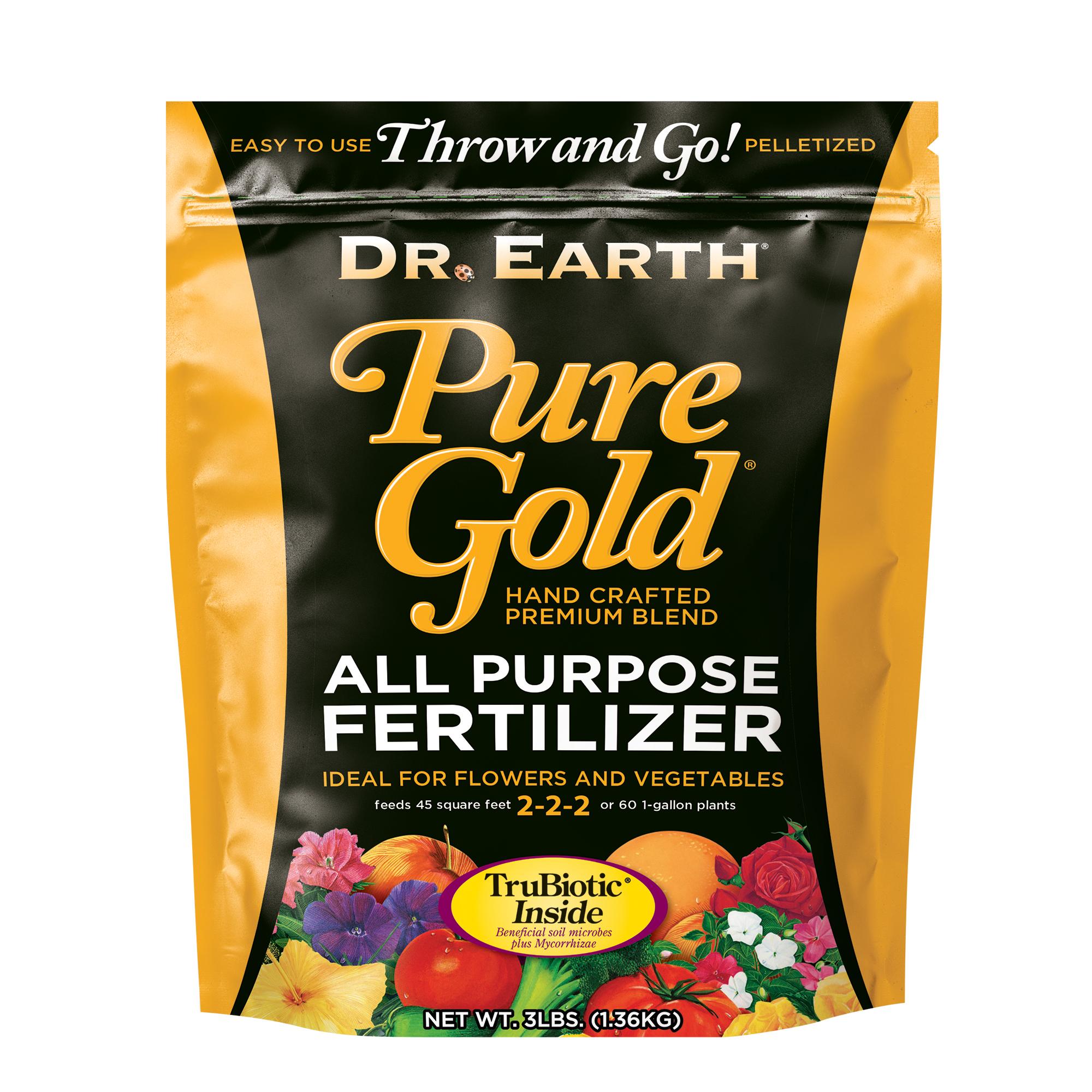 PURE GOLD® ALL PURPOSE FERTILIZER 3lb