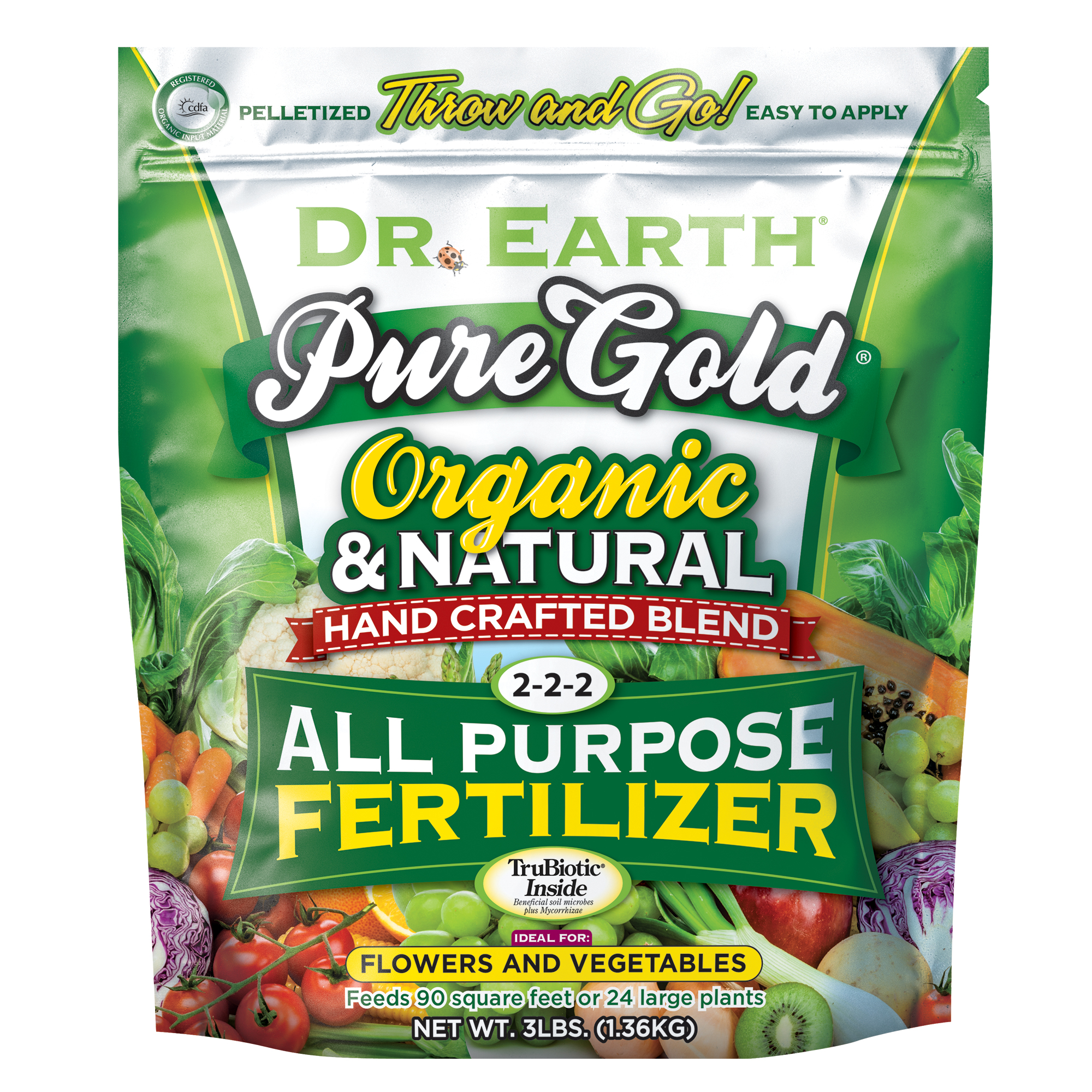 PURE GOLD® ALL PURPOSE FERTILIZER 3lb