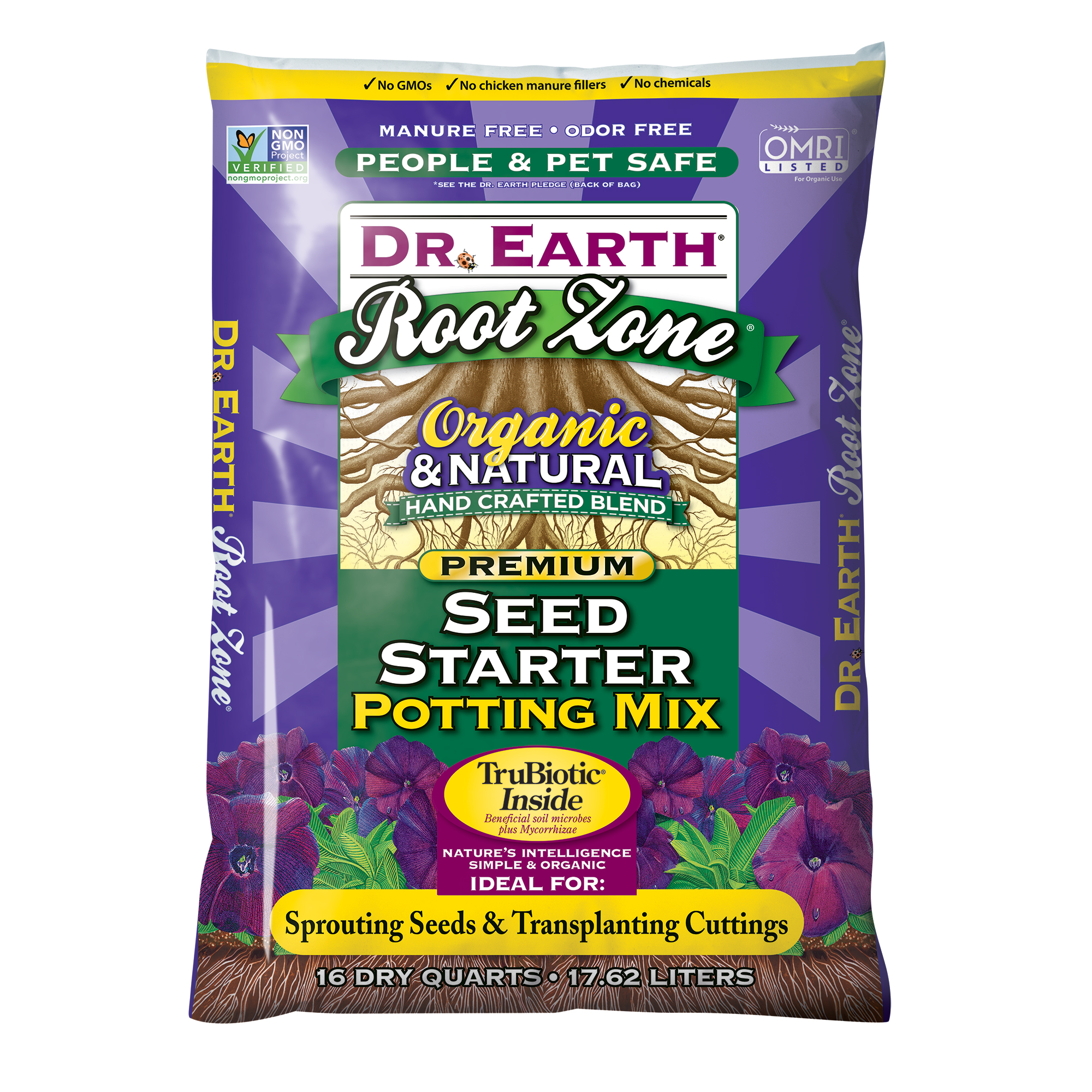 ROOT ZONE® SEED STARTER POTTING MIX 16qt